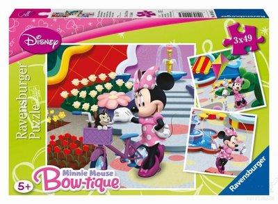 Ravensburger - Minnie Mouse puzzel 3x49st